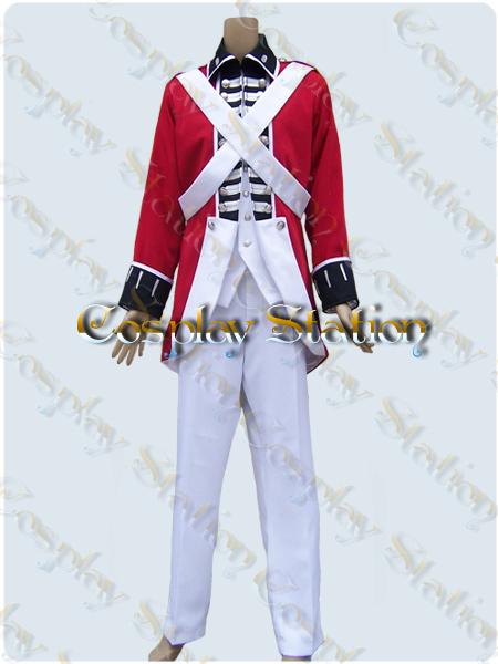 Axis Powers Hetalia England British Red Coat Cosplay