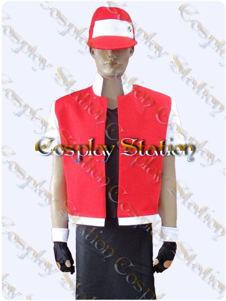 Pokémon Trainer Red Cosplay Costume & Pokémon Trainer Red Cosplay: Pokémon Trainer Red Cosplay Costume